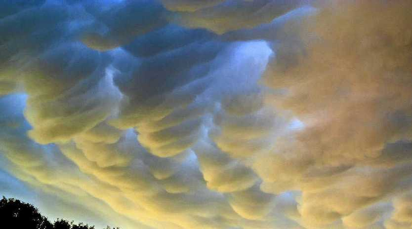 Clouds provide scientists with information about climate change.