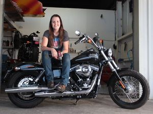 High-revving Katie hits a high as top Harley mechanic