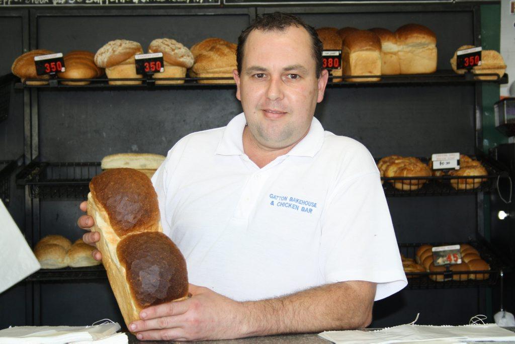Gatton Bakehouse and Chicken Bar owner Ben Kallinicos.