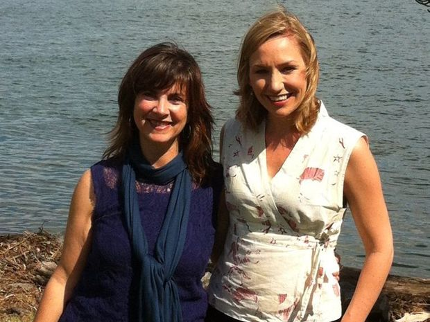 Greens candidate for Richmond Dawn Walker and Greens Senator Larissa Waters took to the Tweed yesterday to talk about CSG.