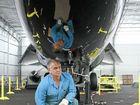 Sleek F-111 is centrepiece