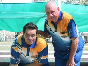 Powerful dad and Darren Davis team a bowling force on green