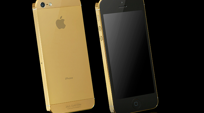 Gold colouring expected on high-end iPhone update, the new iPhone 5S