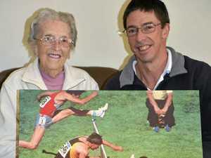 Sports Star of Century savours the athletics