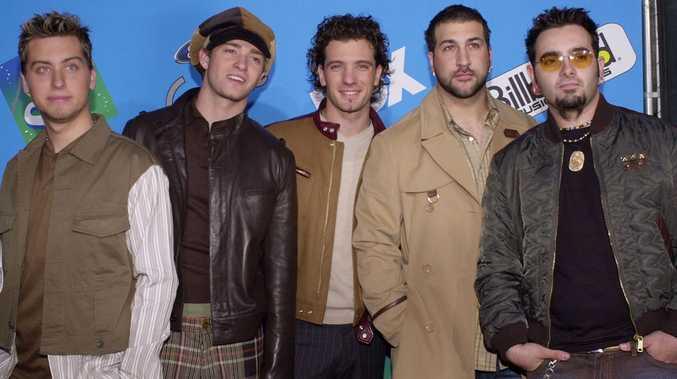 Justin Timberlake with *NSync