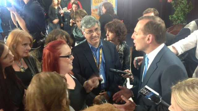 Tony Abbott at a Brisbane forum last year.