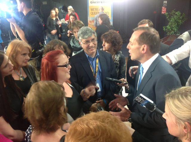 Tony Abbott at a Brisbane forum last year.