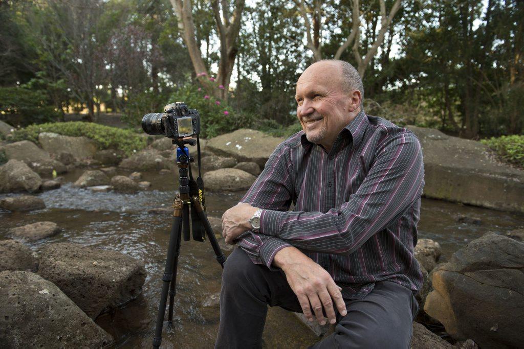 John Elliott is running a photography workshop at the Bunya Mountains.