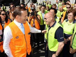 Abbott swings into Wacol