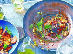 Vegetarian diet sizzles
