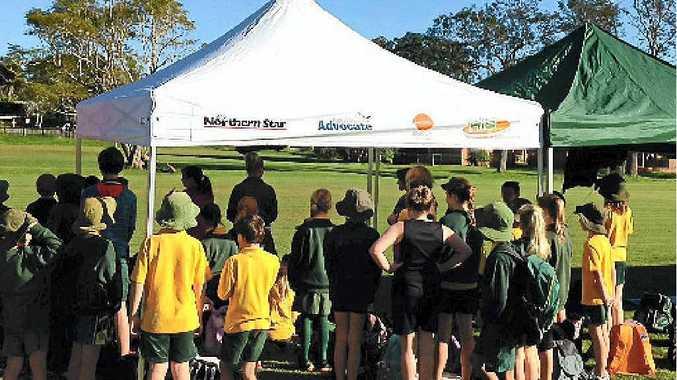 WINNERS: The quick shade won by Wollongbar Public School last year.