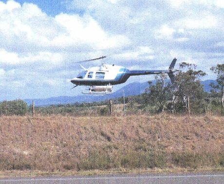 Dale Collie hired a chopper to search for his 23 stolen pots, taken in one hit.