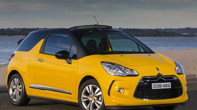 The new Citroen DS3 Cabrio.