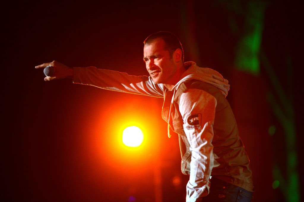 Adam Brand wowed the crowd on Main Stage on Thursday night. Gympie Music Muster 2013 Photo Craig Warhurst / The Gympie Times