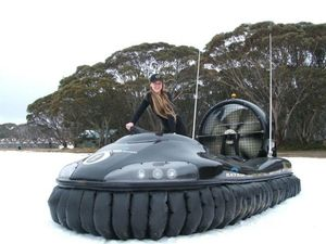 Hovercraft tours may get off the ground in Hervey Bay