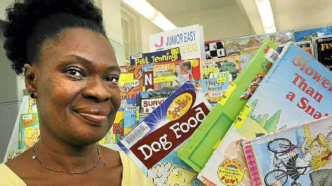 MOTIVATED: Sarah King is collecting books and other educational material to send to disadvantaged children in Sierra Leonie.