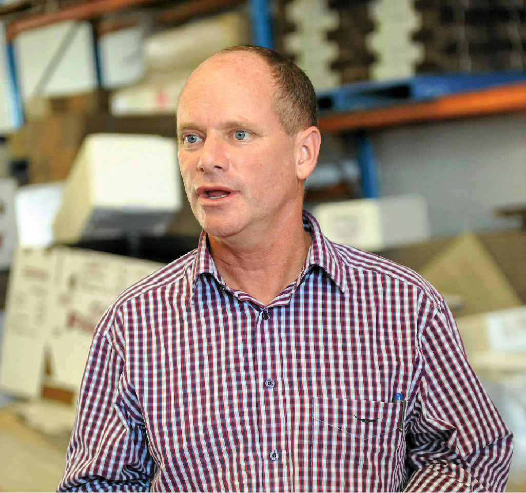 JETTING IN: Premier Campbell Newman will attend Gladstone's community cabinet meeting on Sunday.