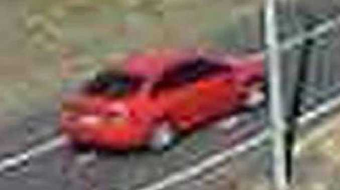 IS THIS YOU?: Police are hoping to speak to the driver of this vehicle in relation to a crash at the Eight Mile intersection last week that left two people dead.