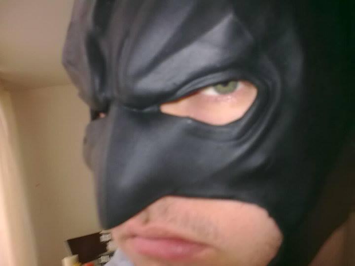 Patrick Williams believes he's the true Batman.