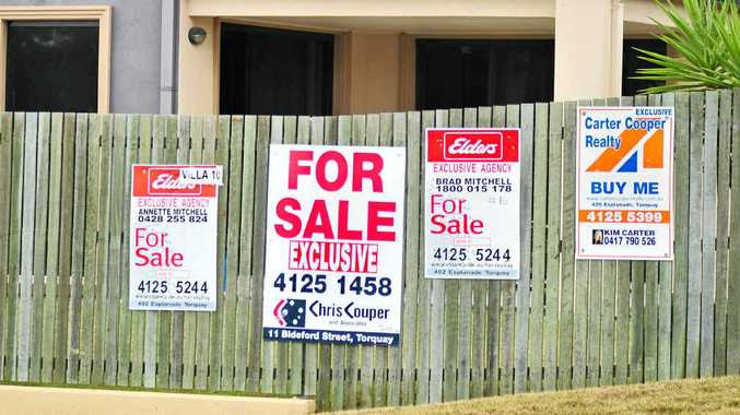 GOING UP: Six Fraser Coast suburbs have shown an increase in median sale prices.