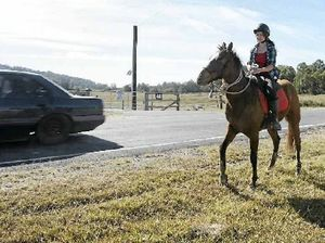 Ignorant drivers putting horse riders' lives at risk