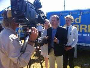 Jobs focus for Fairfax LNP candidate Ted O'Brien