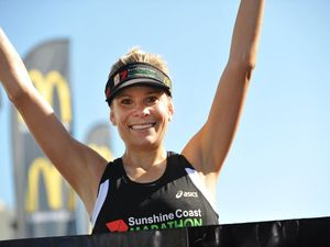 PHOTOS: Roxie in hat-trick at Sunshine Coast Marathon