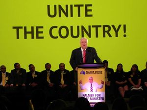 Clive Palmer party campaign launch
