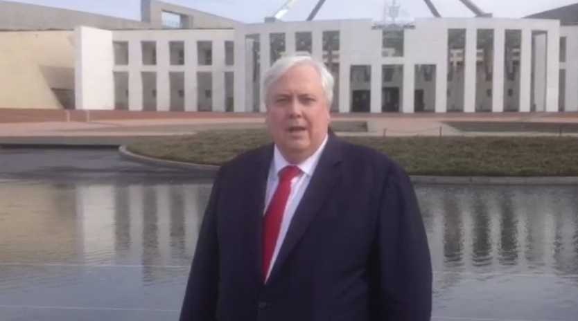 Clive Palmer talks about his chances at the federal election.