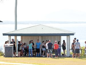 Friends gather to remember Coolum murder victims