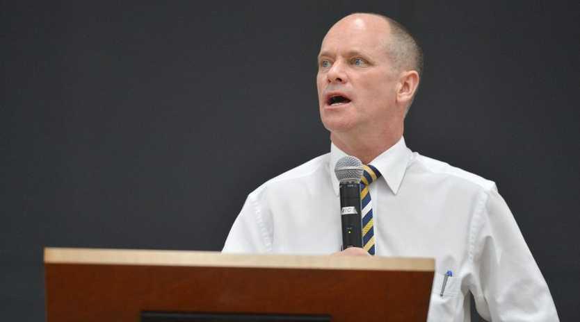 Premier Campbell Newman.