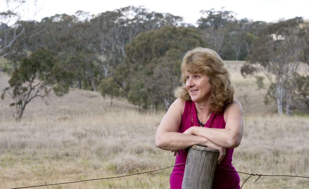 Joy Farquharson found a missing elderly man on her property.