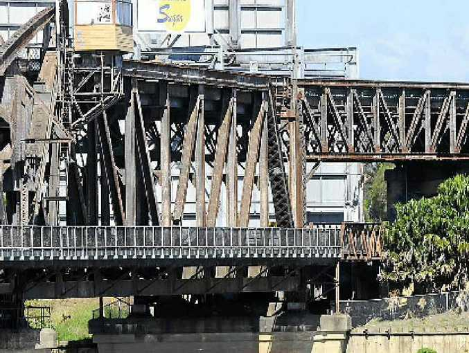 ATTACK SITE: The footbridge on Grafton bridge spanning the Clarence River. Photo: JoJo Newby