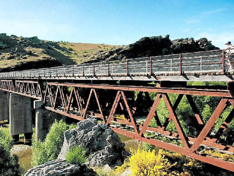 RIDING HIGH: The Otago Central rail trail is one example of a global success story, attracting 750,000 visitors a year.