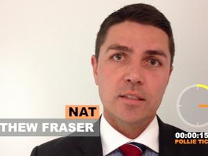 Richmond candidate Matthew Fraser
