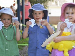 Beary special picnic at kindy