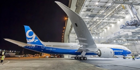 The Boeing 787-9 Dreamliner - the larger version of the jet - will go into service with Air New Zealand next year.
