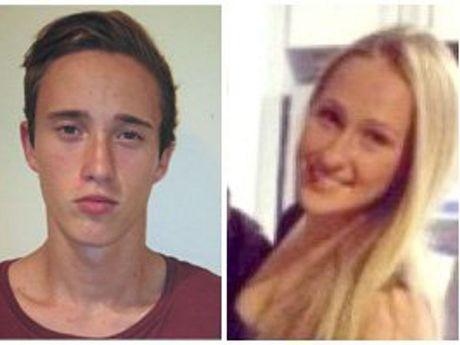 Burns victims Matthew Richards and Paris Turkington.