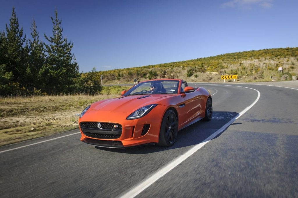 The Jaguar F-Type.