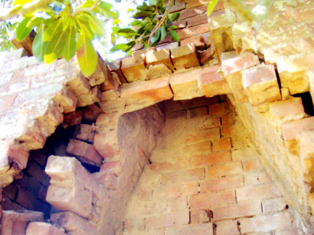 GONE: The historic chimney destroyed by Department of Transport and Main Roads contractors.