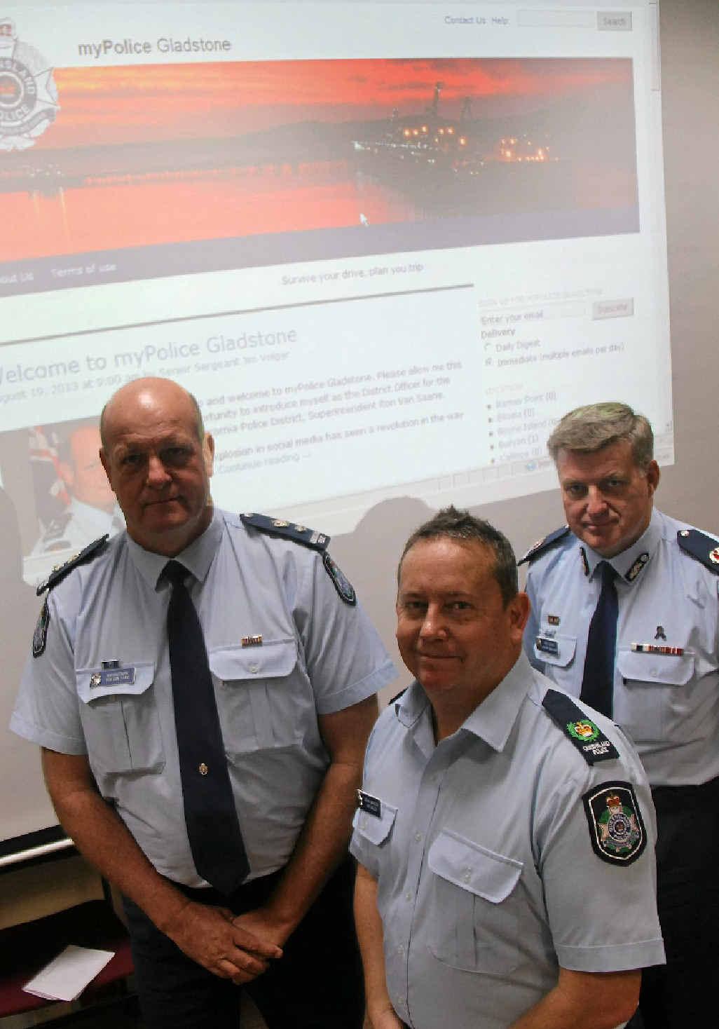 Police launch the myPolice Gladstone web blog.