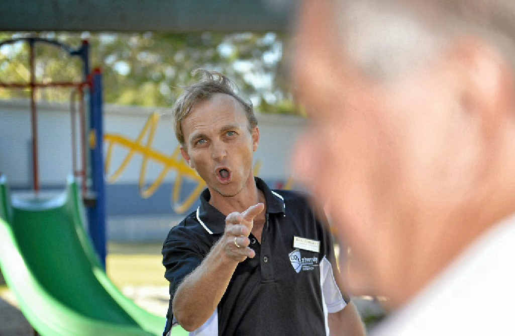 Independent Craig Tomsett took on Ken O'Dowd at Community Cabinet on Sunday.