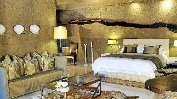 Vast-sized guest suite at Sabi Sabi Private Game Reserve.