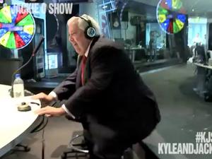 Clive Palmer twerking