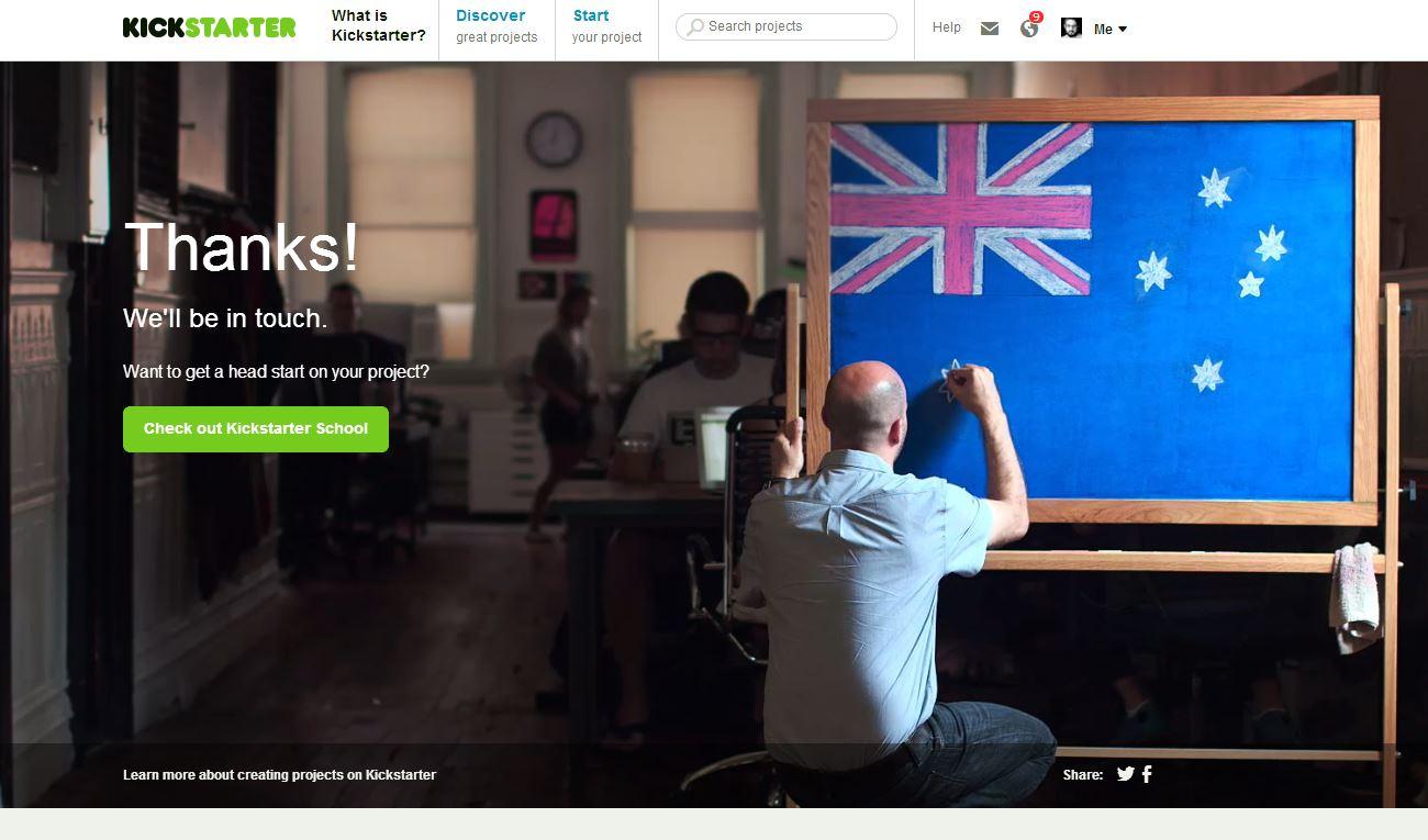 Kickstarter will now be allowing Australian projects