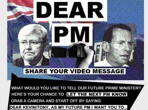 Send your message to Canberra with a Dear PM video