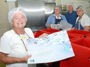 Volunteers celebrate Meals on Wheels' anniversary