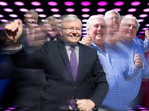 Cranky Clive hangs up on ABC, but wants to dance with PM