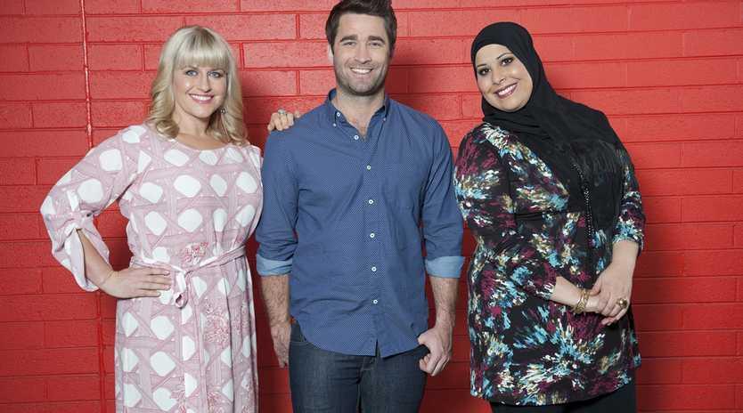 The Top 3: Emma, Lynton and Samira.