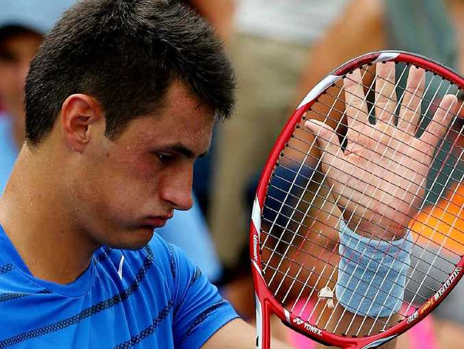 Australian tennis player Bernard Tomic.